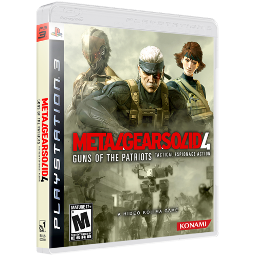 Metal Gear Solid 4 Guns Of The Patriots 1