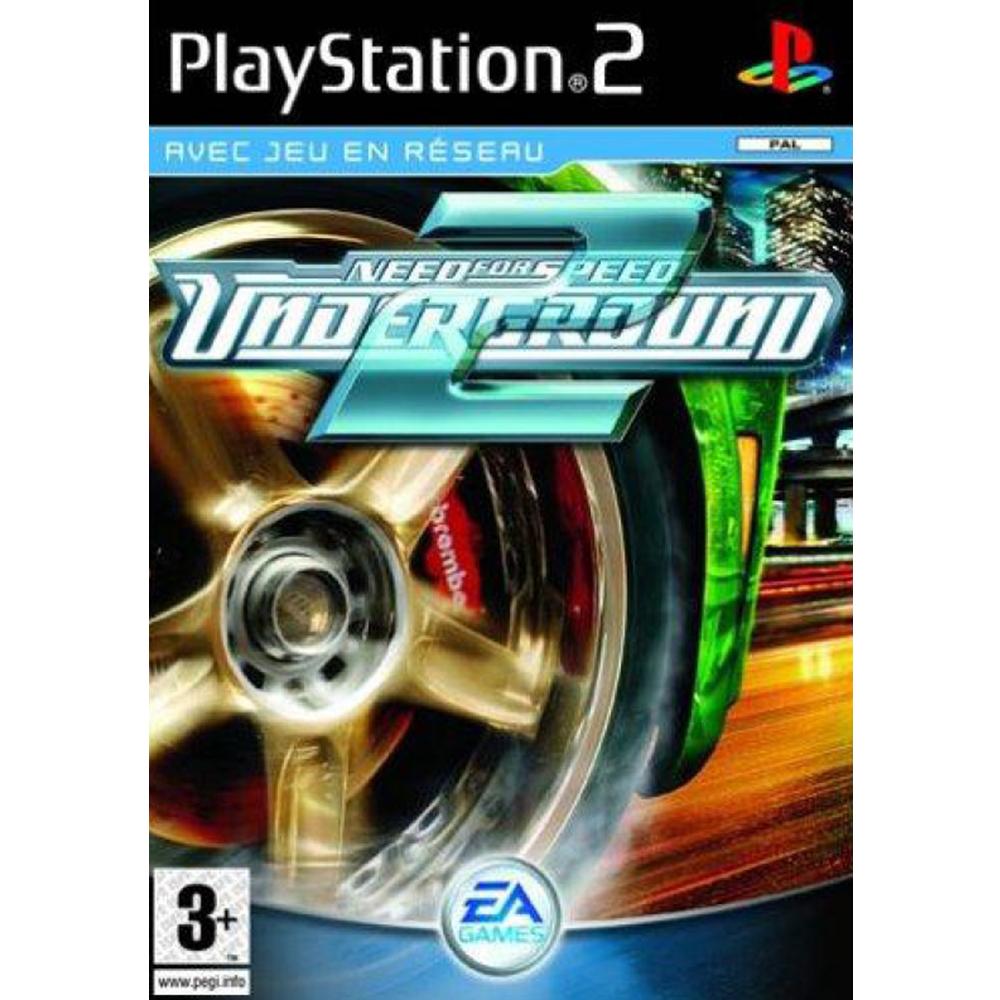 Need For Speed Underground 2 Plastation 2 Round Designs Games