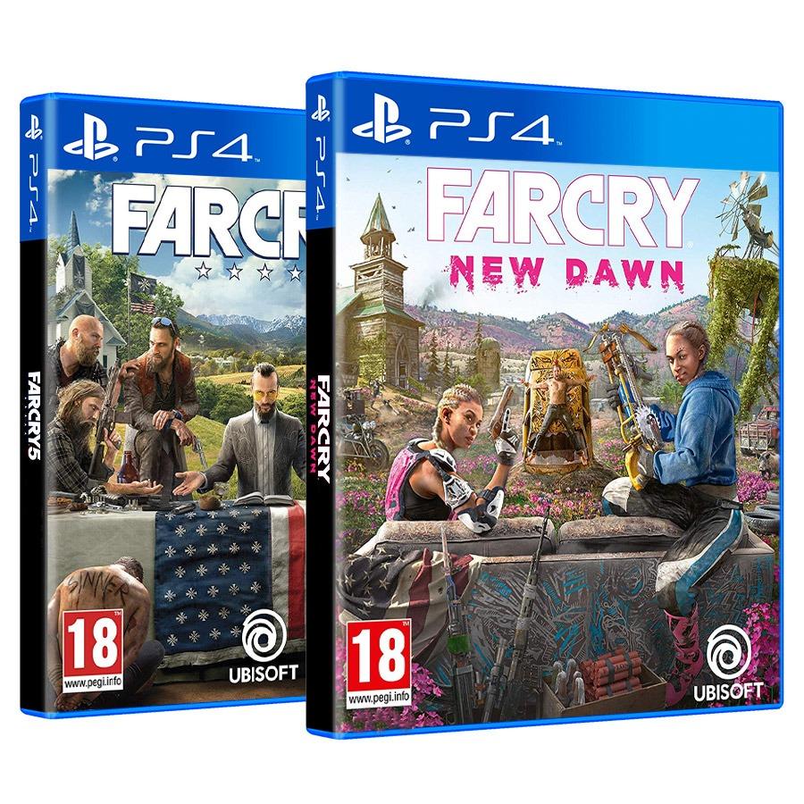 Bundle Far Cry New Dawn Far Cry 5 Round Designs Games