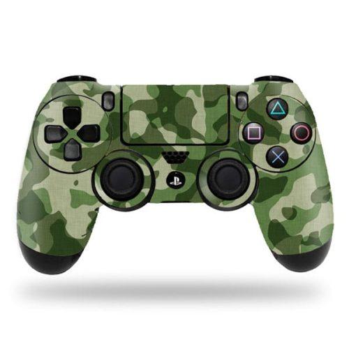 Green-Camo-PS4-Controller-Skin